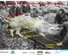 MONTALEGRE - XI Festa do Porco Bísaro em Paredes do Rio (9 Dezembro)