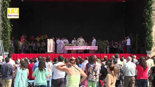 Visita de Nossa Senhora de Fátima, missa de despedida – 2015