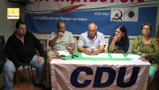 Apresentação do Programa Eleitoral da CDU – Vila Real – 2015