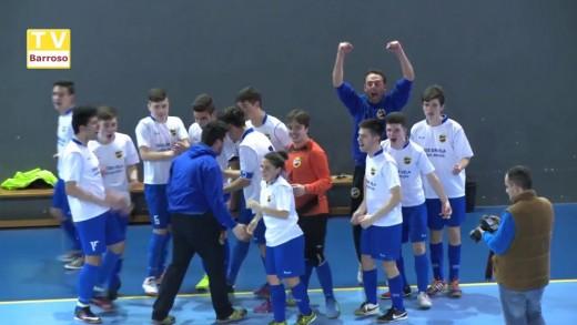 Campeões Futsal  Juvenis AFVR – 2016