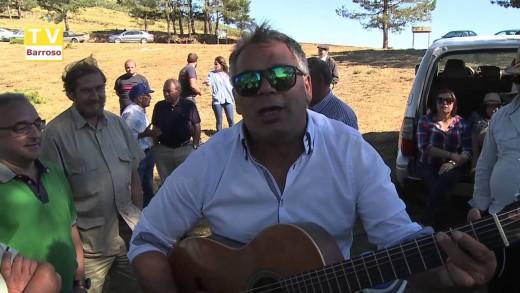 Aguiar, artista popular na festa da Portela – 2015