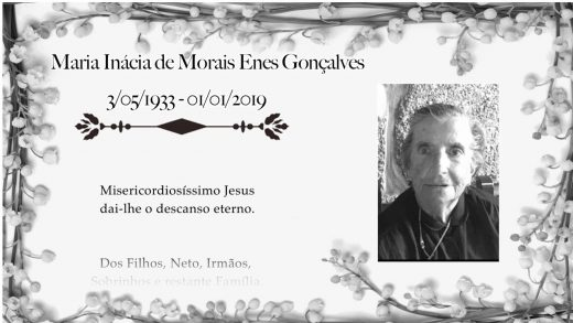 Condolências Miná 2019