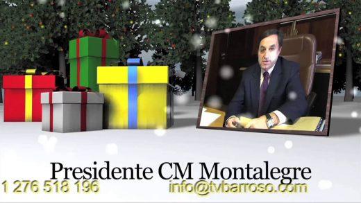 Grave a sua mensagem de Natal no nosso canal
